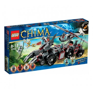 Lego Chima 70009 Worrizova pevno