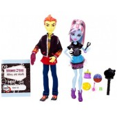 Monster High třídní 2pack Heath